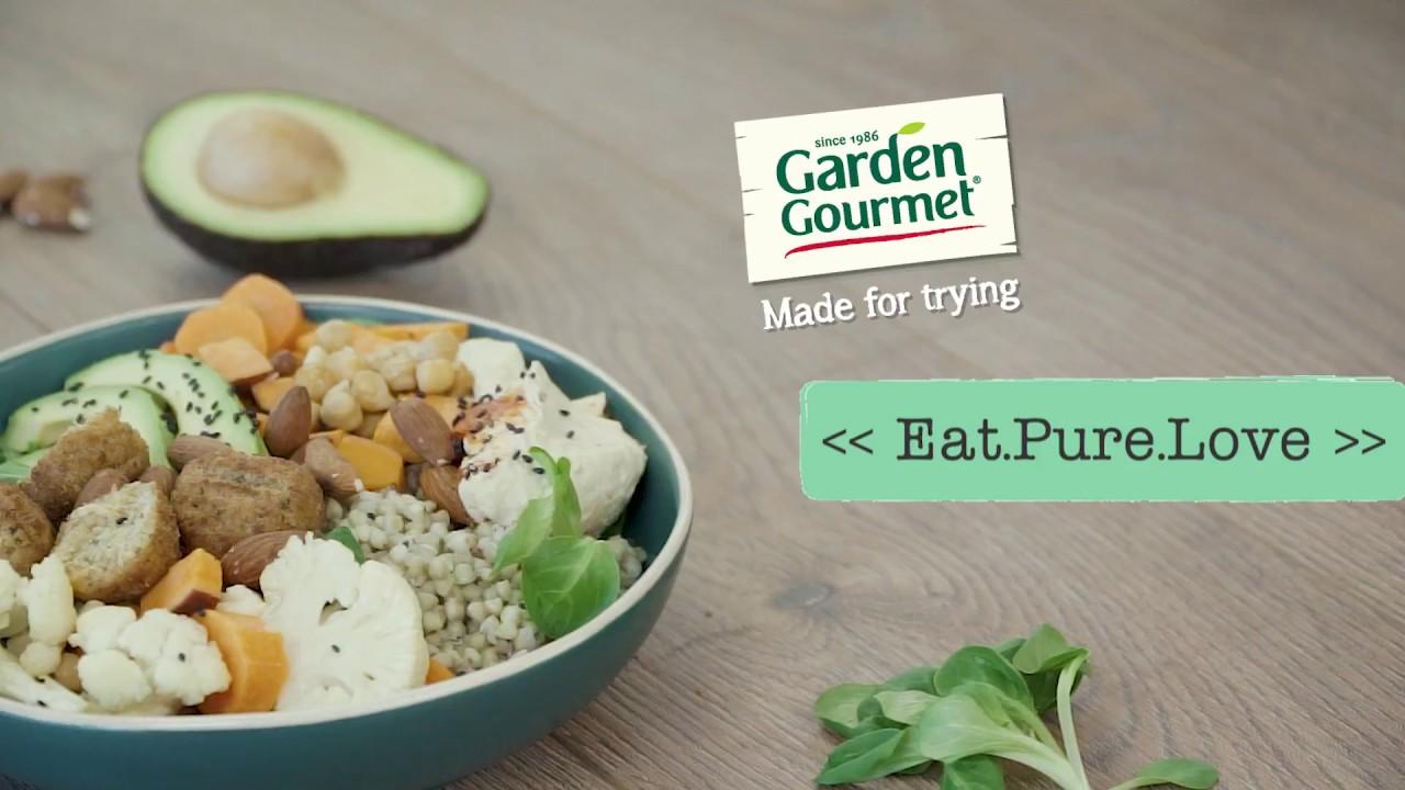 Vegetarische Falafel Bowl Met Zoete Aardappel En Hummus Eat Pure