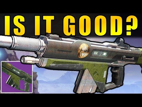 Destiny 2: IS IT GOOD? The Forward Path Iron Banner Auto Rifle Review