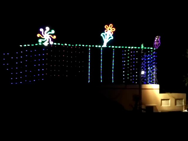 Shree Ganesh tent light decoration