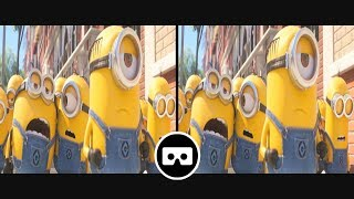 [VR 3D SBS] Minions - Despicable Me 3 - VR Movie Clips for VR Box