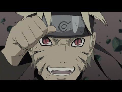 Kurama talks through Naruto - Naruto Shippuden [English Dub]