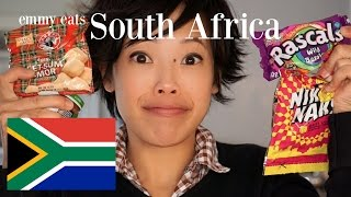 Emmy Eats South Africa - an American tasting South African snacks & sweets