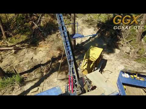 Flying over Gold Drop Project, Greenwood BC, Canada - GGX Gold Mining Corporation