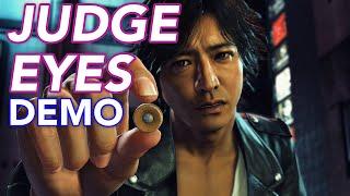 Yakuza Team's New Game: Judge Eyes Demo
