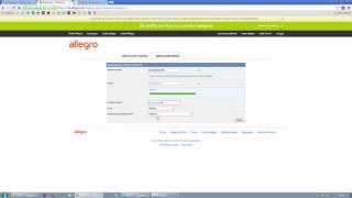 Jak Zalozyc Konto Na Allegro Rejestracja I Logowanie Youtube