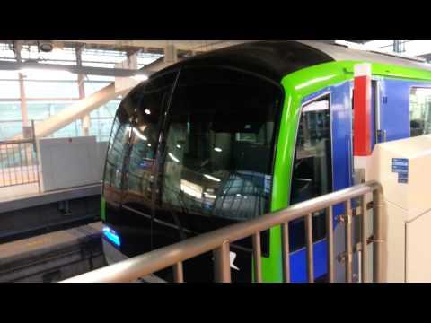 Tokyo Monorail 10000 Series Dep Haneda Intl ter