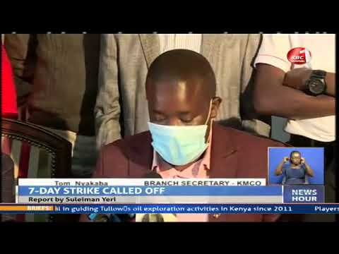 Nairobi health workers down thier tools citing low pay