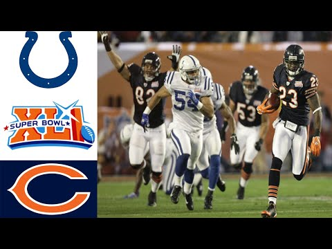 Colts Vs Bears Super Bowl XLI