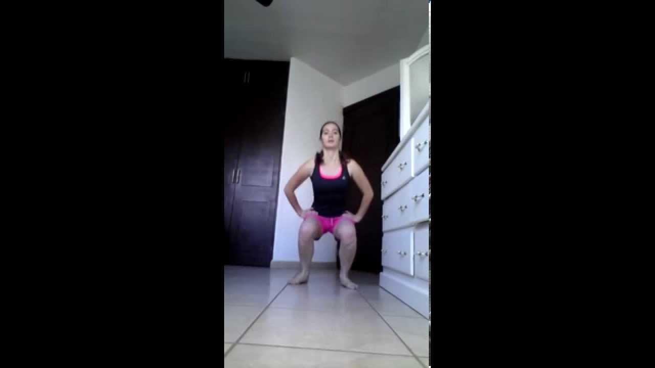 Fortalecer pierna y gl teos con sentadillas ejercicios en casa para ponerse en forma youtube - Ponerse en forma en casa ...
