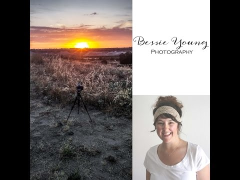 Sunset Time lapse Sony A7Rii Fresno California by Bessie Young Photography