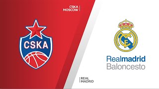 CSKA Moscow - Real Madrid Highlights | Turkish Airlines EuroLeague, RS Round 11
