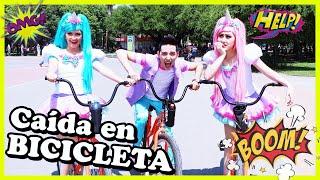 Caída en  bicicleta/ Aprendiendo andar en Bicicleta/ Paseo en Bicicleta/ Videos para niños