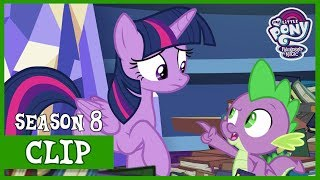 Twilight Worries Sludge Is Taking Advantage of Spike (Father Knows Beast) | MLP: FiM [HD]