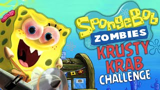 SPONGEBOB ZOMBIES: KRUSTY KRAB CHALLENGE ★ Call of Duty Zombies (Zombie Games)