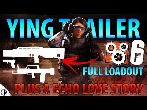 Ying OFFICIAL Trailer! - All Guns & Love Story - Blood Orchid - Hong Kong - Rainbow Six Siege - R6
