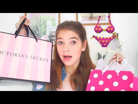 bra shopping with my sister!! Pink, Victoria secret+ HAUL