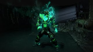 Path of Exile - Ghostflame Armour Set