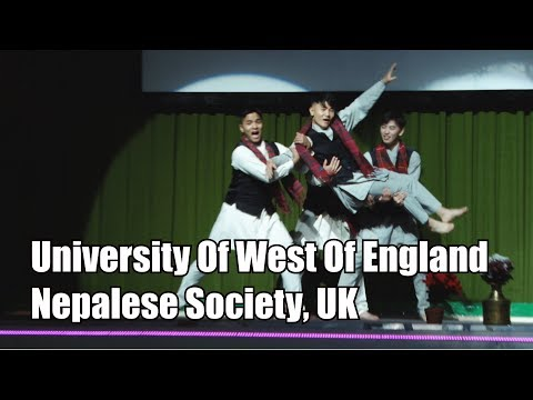 UWE Bristol Nepalese Society Opening Dance (5th Inter-Uni Nepalese Dance Competition 2017)