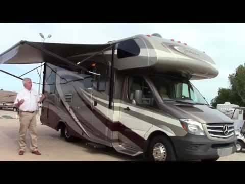 Preowned 2014 Forest River Solera 3524 Class C Motorhome RV Holiday World of Houston in Katy, Texas
