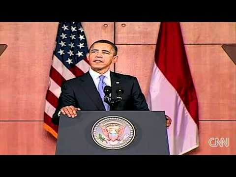 Barack Obama speak/berbahasa Indonesia