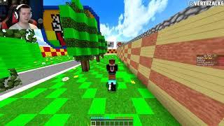 Minecraft Party - Bobix odpalił czity i mnie bije