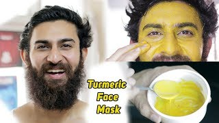 Turmeric Face Mask For Dry Skin | Glowing & Smooth Skin | Winters Skincare