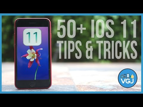 50+ iOS 11 Tips, Tricks and Features For Your iPhone 7, iPhone 8, iPhone 10, iPhone X and iPad