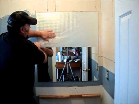 Bathroom Mirror Removal taking down a bathroom mirror - youtube
