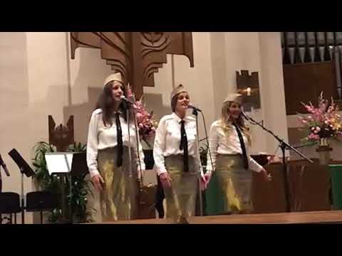 ANDREWS SISTERS Tribute by Sonya and Aleta Buckelew and Nancy Lee