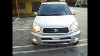 2003 toyota RAV4 start up, test drive