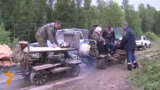 The End Of A Railroad -- And A Siberian Village