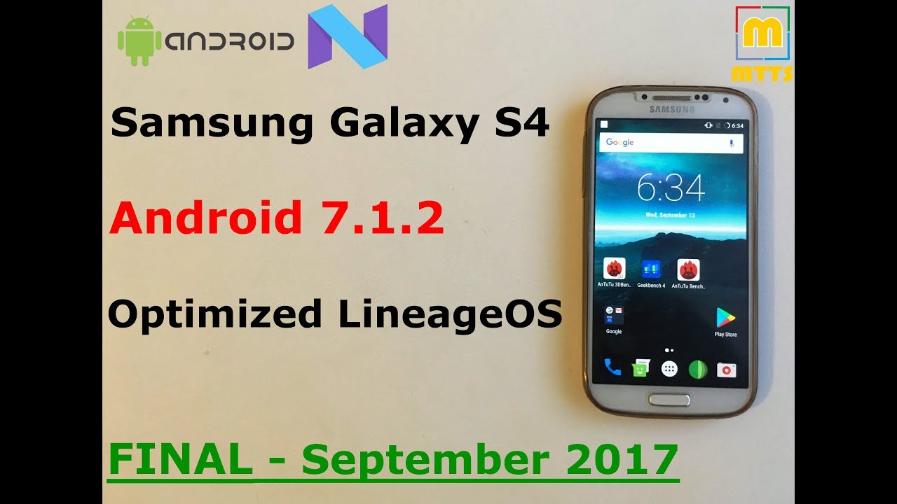 Samsung Galaxy S4 - FINAL Stable Android 7 1 2 - LOS - guide + review -  Android Oreo on the S4 news