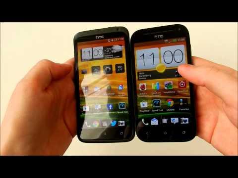 Vergleich HTC One SV vs. One X XL
