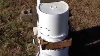 Little Creek Bee Ranch winter feeding