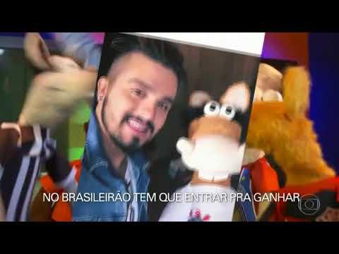 Luan no Fantástico  Luan Santana cantando com os Cavalinhos do Brasileirão 15042018