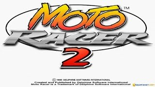Moto Racer 2 gameplay (PC Game, 1998)