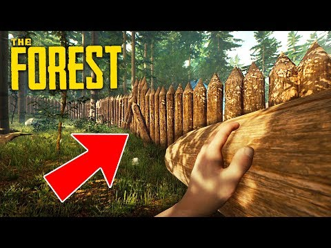BUILDING THE BEST BASE EVER!! (The Forest)