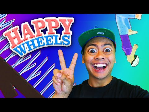 The Impossible FALL! | Happy Wheels #2