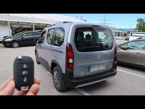2020 Peugeot Rifter L1 Allure 1.5 BlueHDi (130 hp) - Visual Review