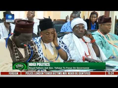 News Across Nigeria: Traditional Rulers Wade Into Dispute Between Gov. Bello & Melaye