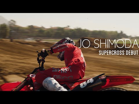 JO SHIMODA | Japanese Pro Making His Mark In American Supercross