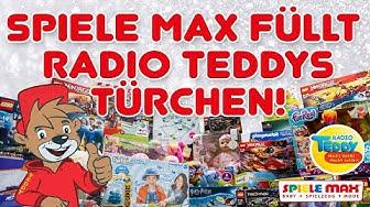 SPIELE MAX füllt Radio TEDDYs Türchen!