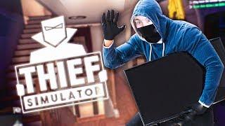 ROBO LA TV EN  SU CARA!! - Thief Simulator