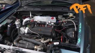 80'z Honda Engine Power! The road less traveled! Vid 1