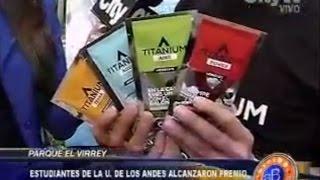 Entrevista Arriba Bogotá CityTv - Equipo TITANIUM