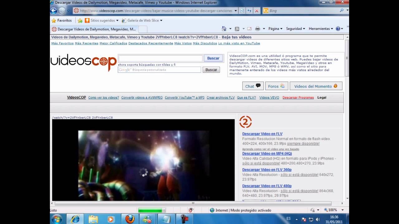 musica de youtube videoscop