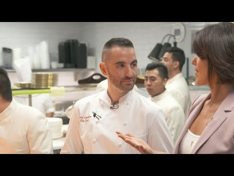 Inside chef Mario Carbone's kitchen at