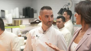 Inside chef Mario Carbone's kitchen at The Grill