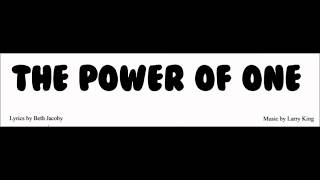 Power Of One - Accomp.