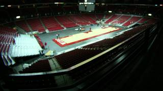 Kohl Center Conversion Time Lapse